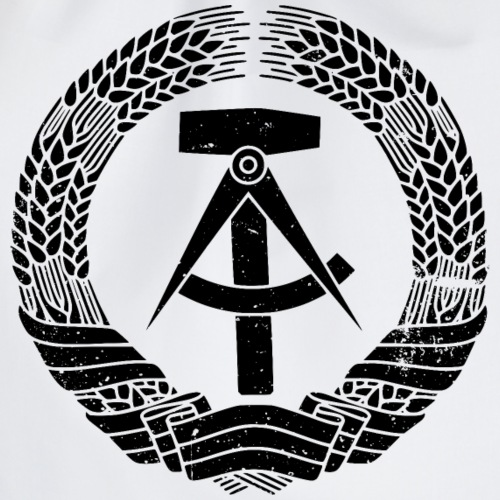 DDR Emblem - Turnbeutel