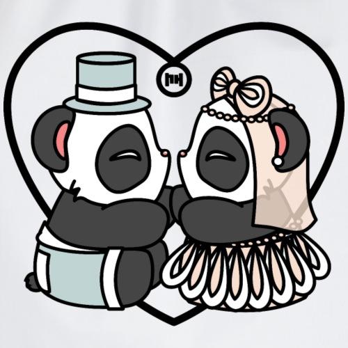 Little Panda Wedding - Turnbeutel