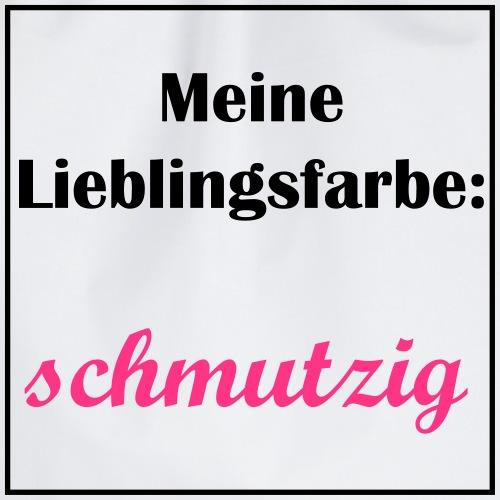 pulli design Schmutzig - Turnbeutel
