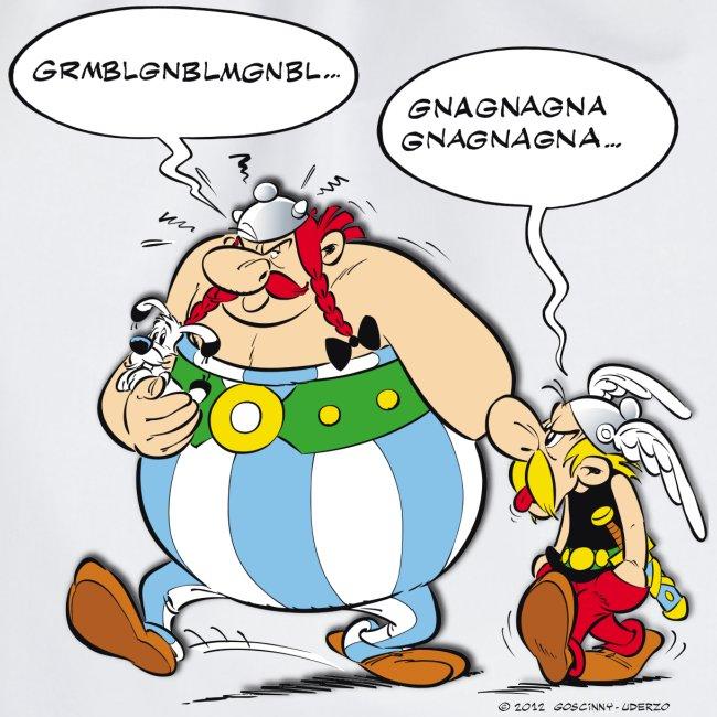 Asterix & Obelix boudeur