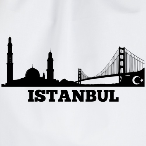 Istanbul Skyline Design Paradise - Turnbeutel