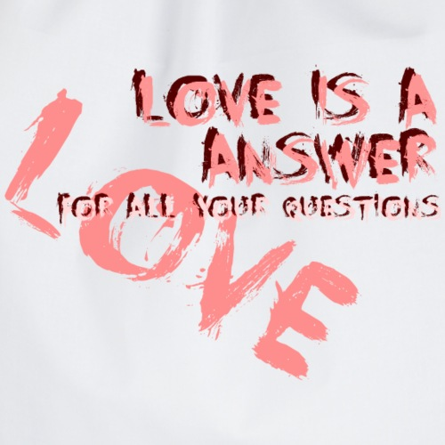 love is a answer red