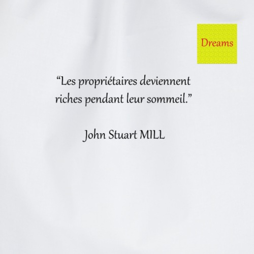 Dreams collection John Stuart MILL - Sac de sport léger
