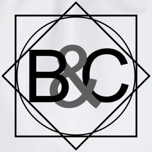 B&C Twisted Black - Turnbeutel