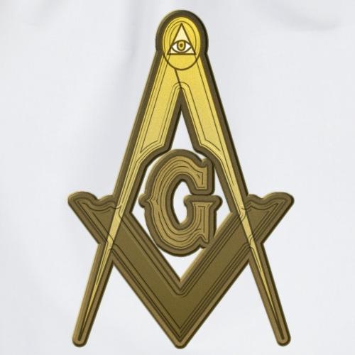 Freemason Compass Golden