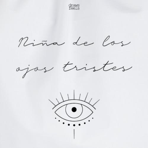 Niña de los ojos tristes [Alba Reche] - Mochila saco