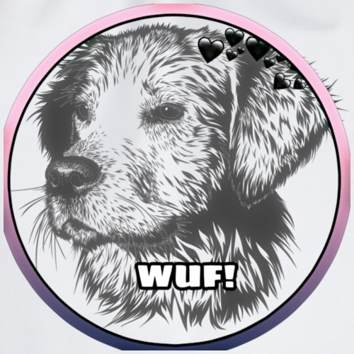 Sweet Dog Wuf Logo - Turnbeutel