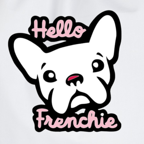 bulldog francese - Sacca sportiva