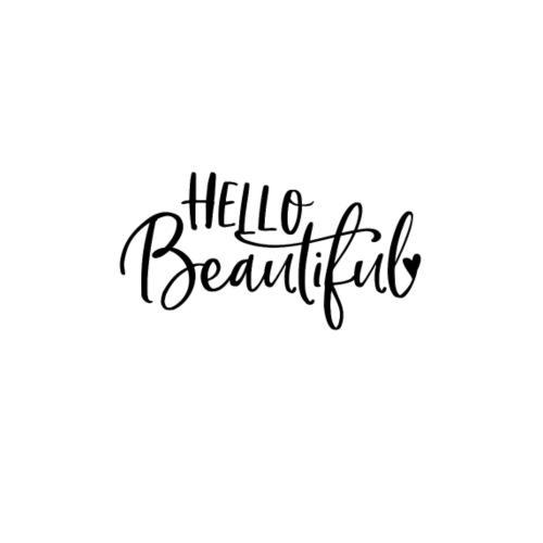 Hello Beautiful - Turnbeutel