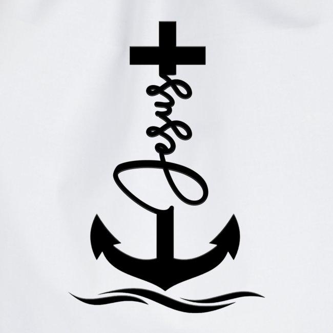 Jesus-Anker black Special
