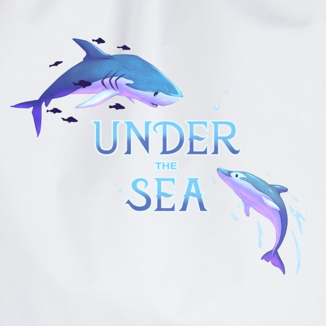 Under the Sea - Requin et dauphin