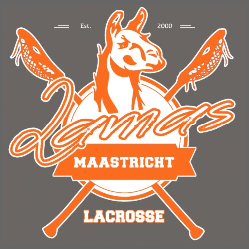 Llamas - Maastricht Lacrosse - Oranje - Gymtas