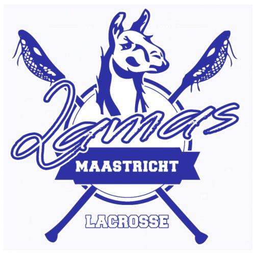 Llamas - Maastricht Lacrosse - Blauw - Gymtas