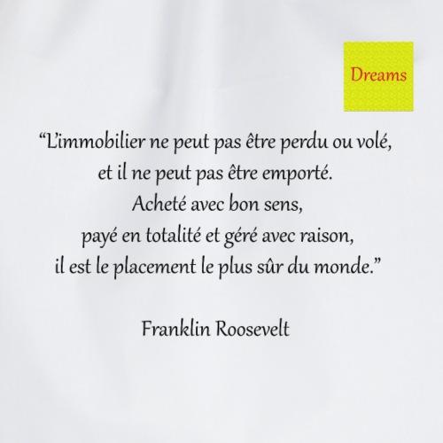 Dreams collection Franklin Roosevelt - Sac de sport léger