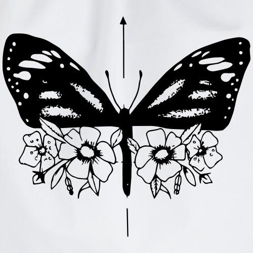FlowerButterfly - Turnbeutel