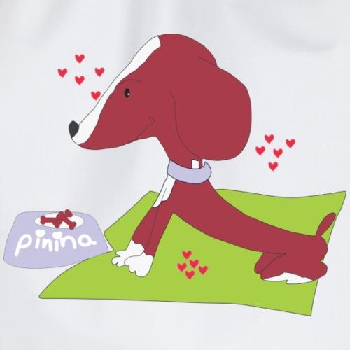 My Puppy Pinina - Drawstring Bag