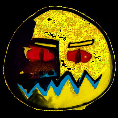 Maske Zwei ... komisch - Turnbeutel