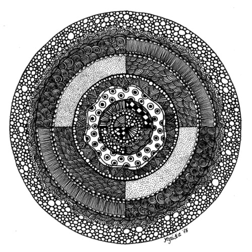 Mandala3 - Turnbeutel