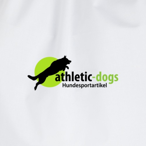 athletic dogs final PS 200818 A - Turnbeutel