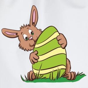 Kleiner Hase mit Osterei - Turnbeutel