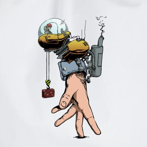 Hand Walker Comic Illustration - Gymtas