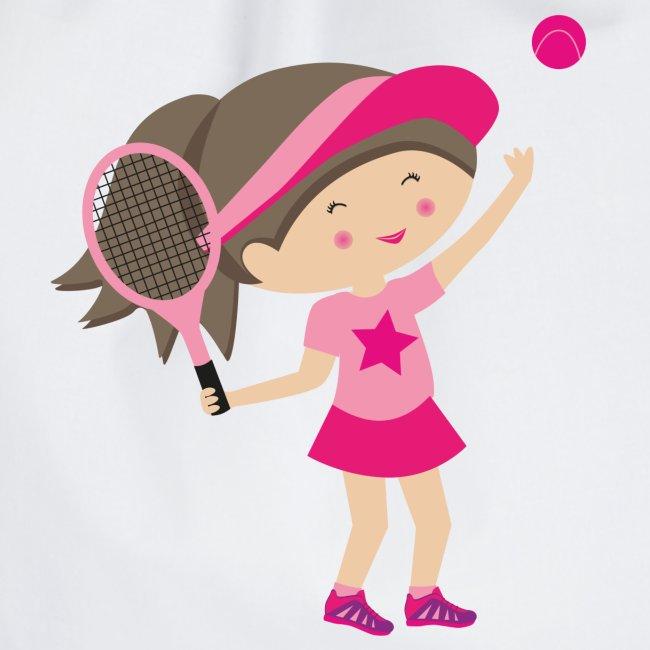 Happy Meitlis - Tennis Mädchen