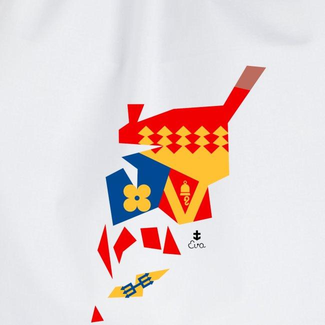 Åboland × Eva: Kimitoöns kommunvapen