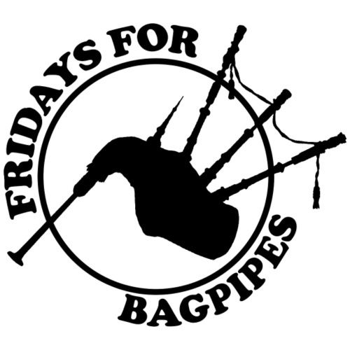 Fridays for Bagpipes! (schwarz)