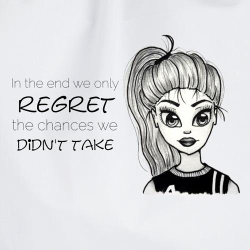 regret the chances - Turnbeutel