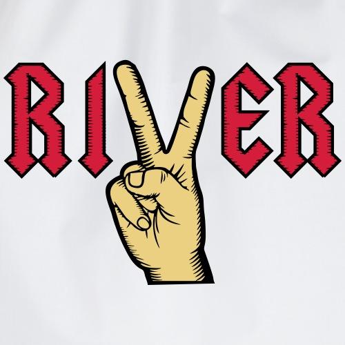 River Viktory hand multicolour - Turnbeutel