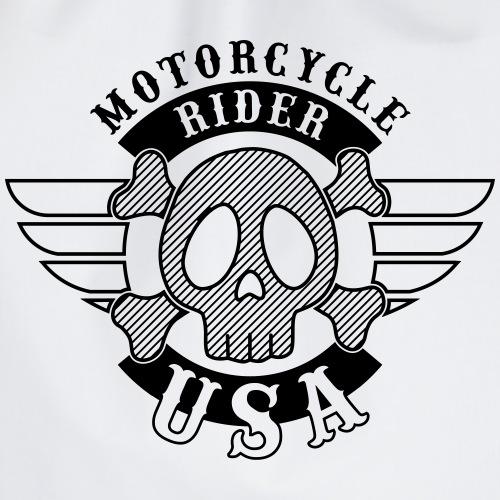 Motorcycle Rider USA 'Wing' - Sac de sport léger
