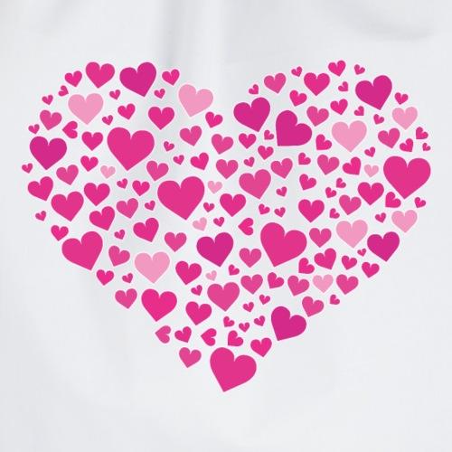 Herz aus Herzal - Turnbeutel