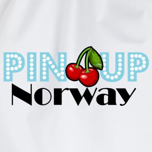 Pinup Norway blå - Gymbag