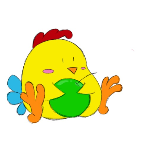 Chicken - Gymnastikpåse