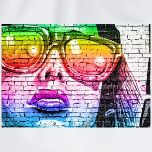 Graffiti girl - Gymbag