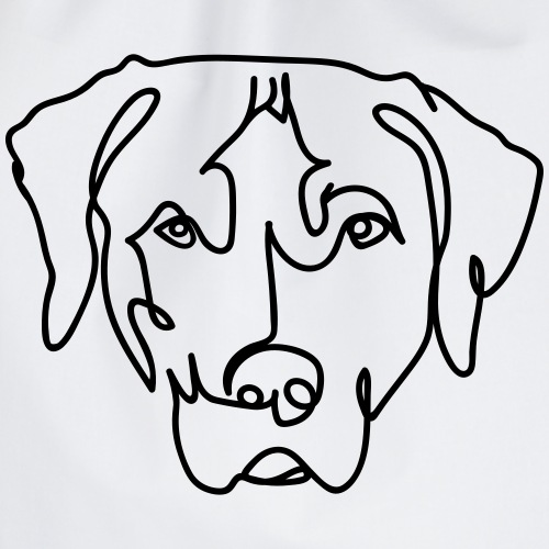 Hund oneline - Turnbeutel
