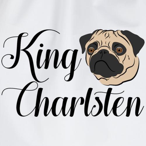 King Charlsten Logo Farbe - Turnbeutel