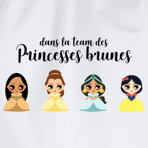Team princesses brunes - Sac de sport léger