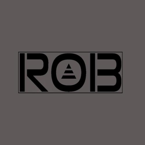ROB 13 LOGO BLACK - Turnbeutel