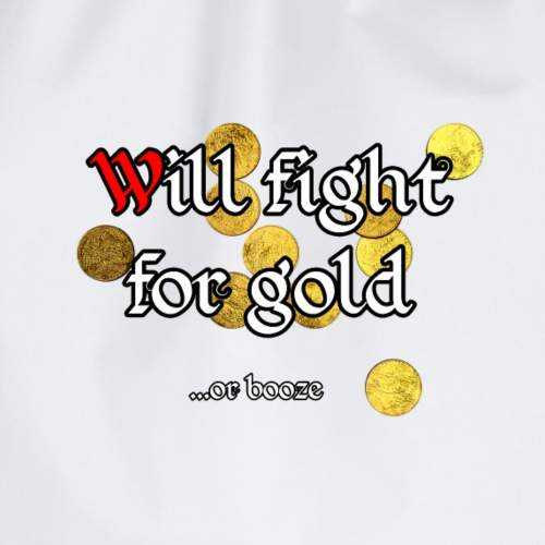 Fight for Gold ...or booze - Turnbeutel