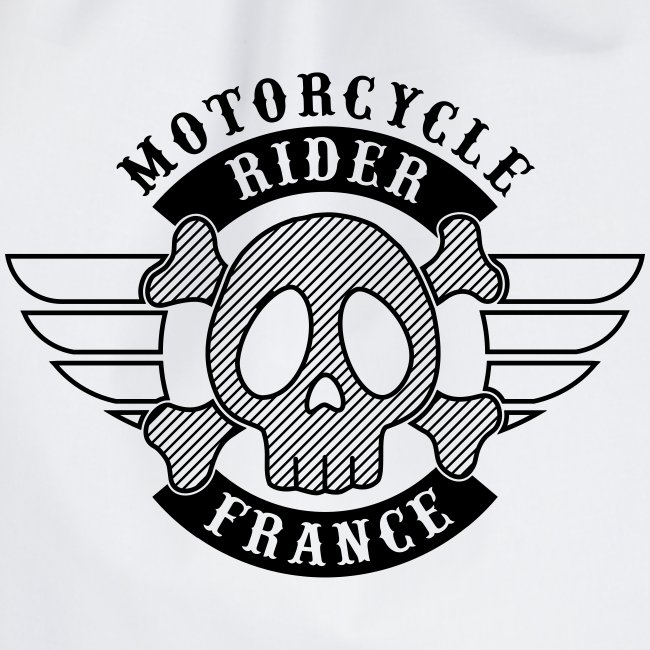 Motorcycle Rider France 'Wing'