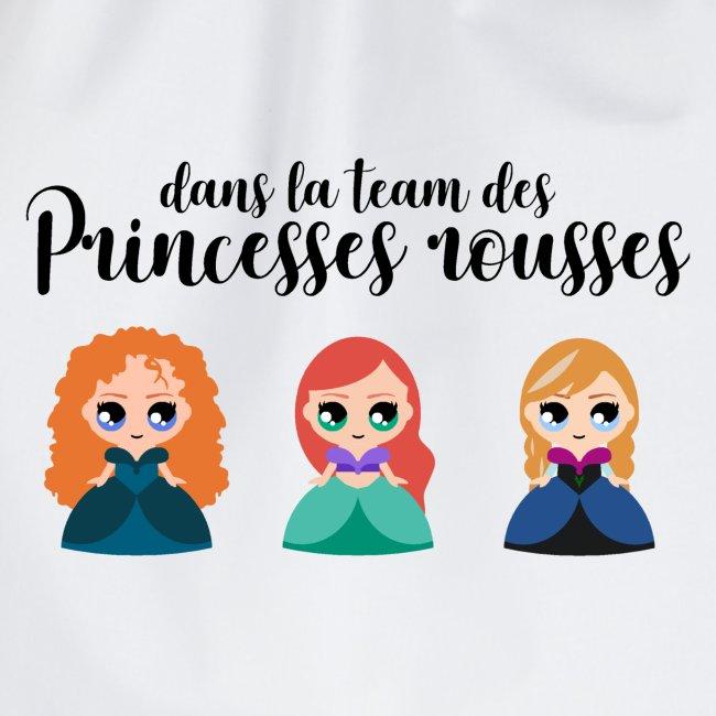 Team princesses rousses