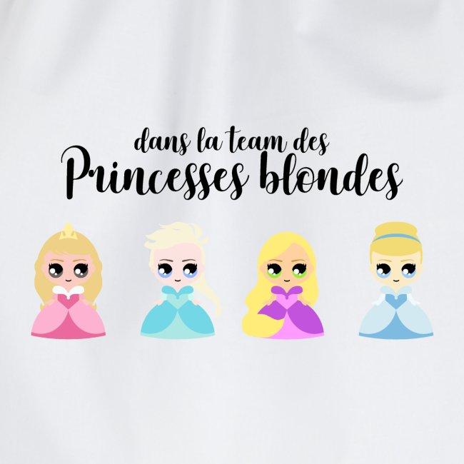 Team princesses blondes