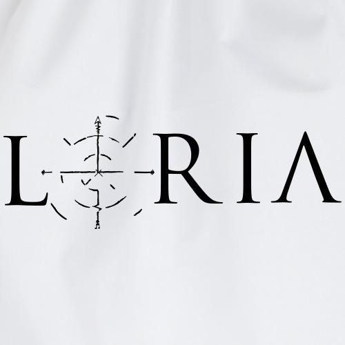Loria Logo - Turnbeutel