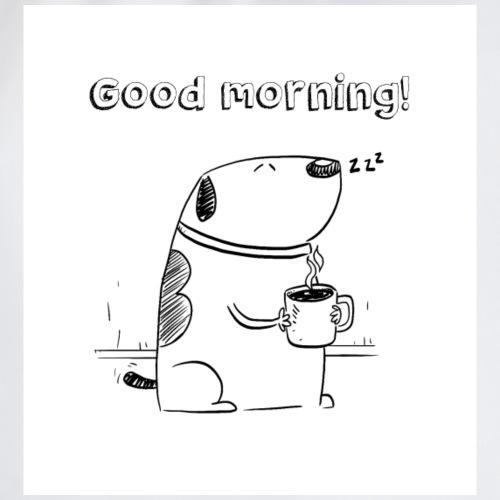 Good Morning Gibo! - Drawstring Bag