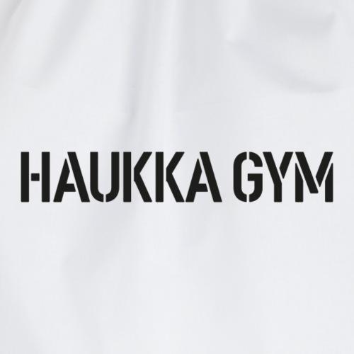 HAUKKA GYM text - Jumppakassi