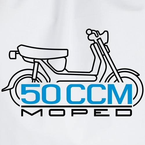 SR50 SR80 50ccm moped emblem - Drawstring Bag