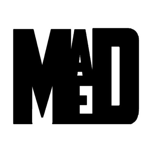 Maddem logo (Black) - Drawstring Bag