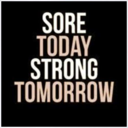 Sei stark! - Turnbeutel