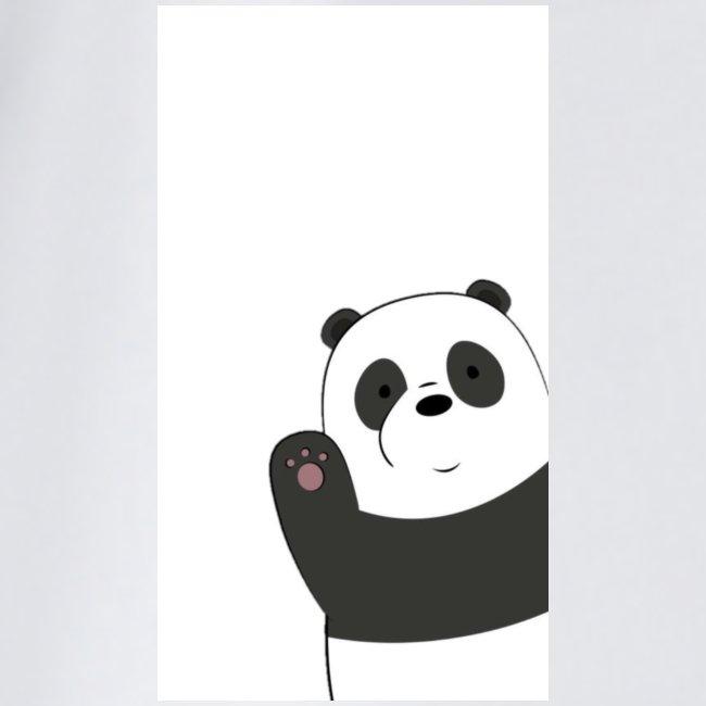 We bare bears panda design